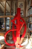 Sterling sculpture 2.5m high