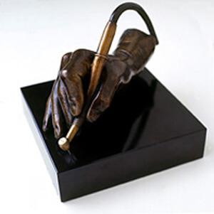 Bronze Sculpture - My Hand at Work