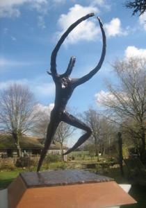 Victor Ludorum - sculpture in bronze