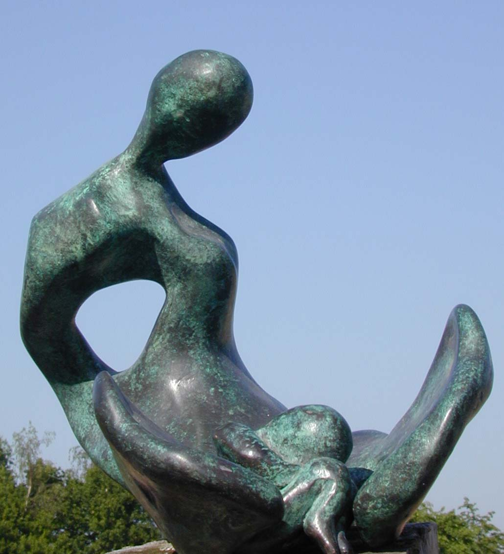Birth - Bronze Sculpture