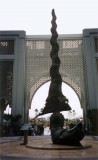 The Keris, Kuala Lumpur, Malaysia - bronze sculpture - 16m
