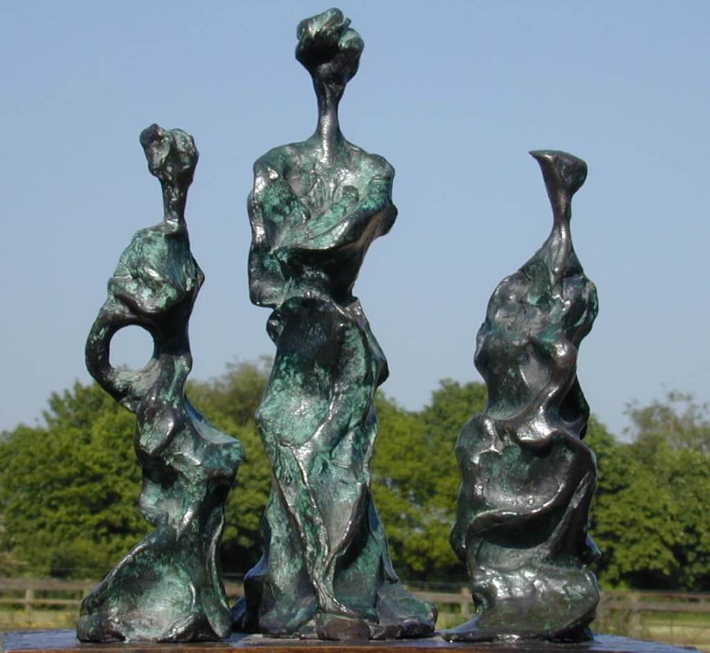 Bronze Sculpture - Three Sisters