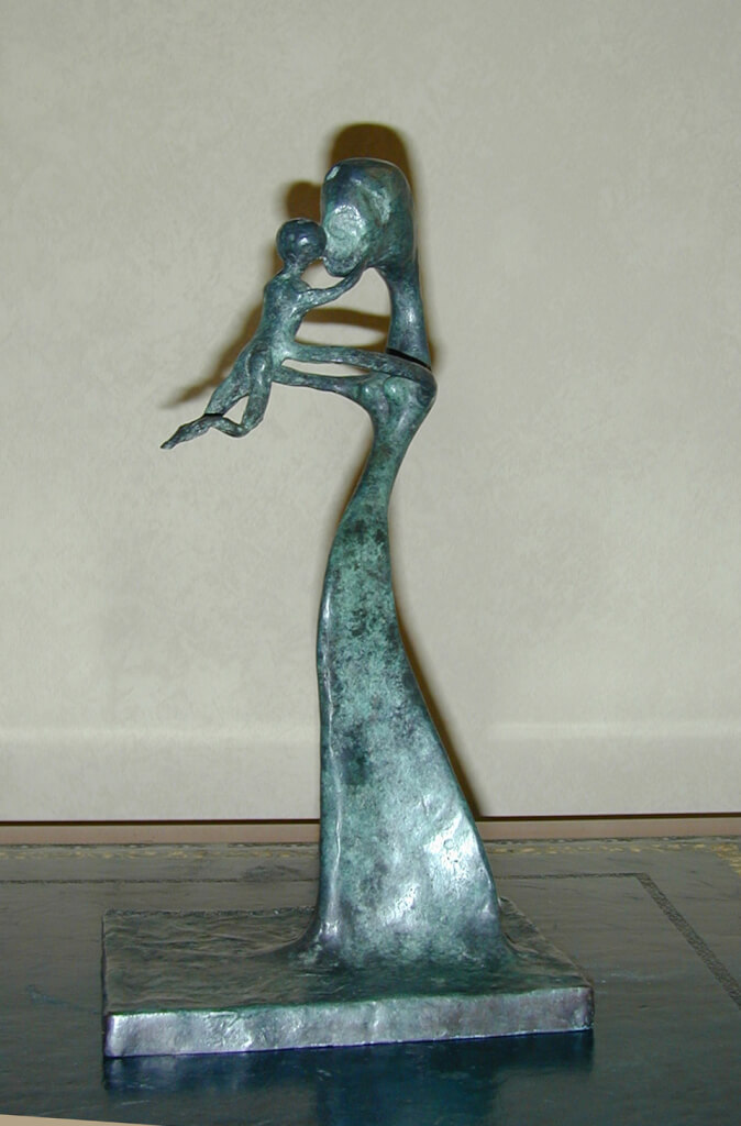 Bronze Sculpture - Tom
