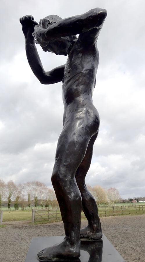 Bronze Sculpture - Speak to us of Crime and Punishment