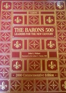 Barons 500 - Hardback Cover Photo