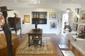 Graingers' Gallery - interior of the gallery looking north.