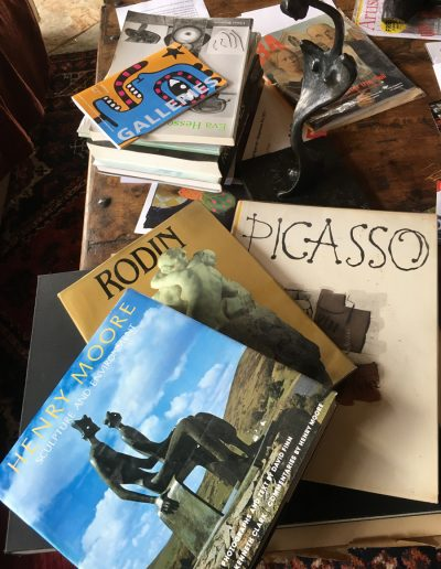PICASSO MOORE AND RODIN art books