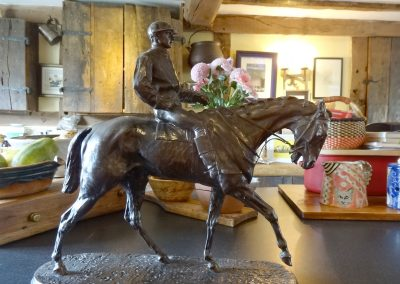 P.J. Mene. The Derby Winner 1863 bronze sculpture