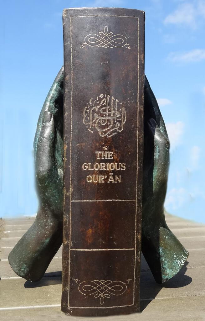 The Qur'ān - Bronze Sculpture