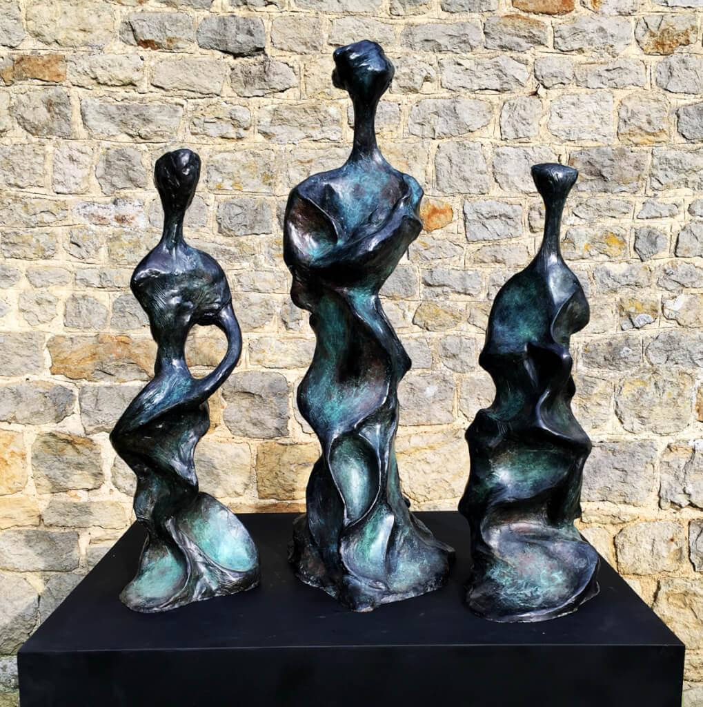 Three Sisters - Bronze Sculpture