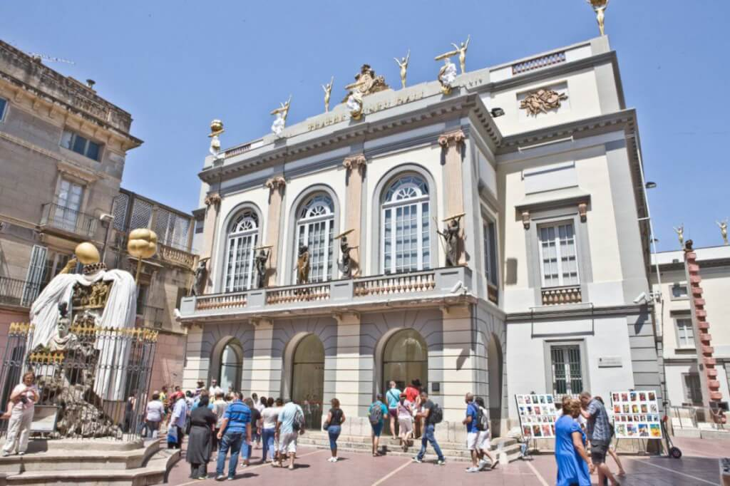 The Dalí Theatre-Museum at Figueres, Spain